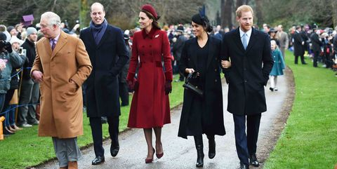 Royal Family Christmas.Every Royal Family Photo From Christmas Service At