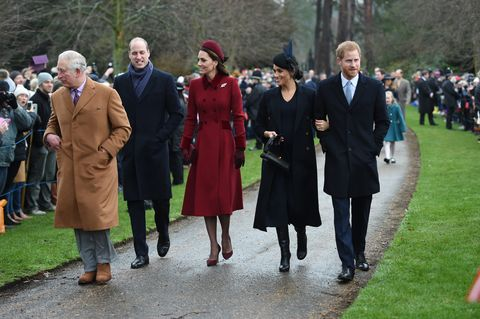 Royals attends Christmas Day Church service