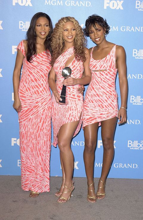 destinys child during 2000 billboard music awards in las vegas photo by sgranitzwireimage