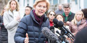 Sen. Elizabeth Warren Announces Possible Run For Presidency