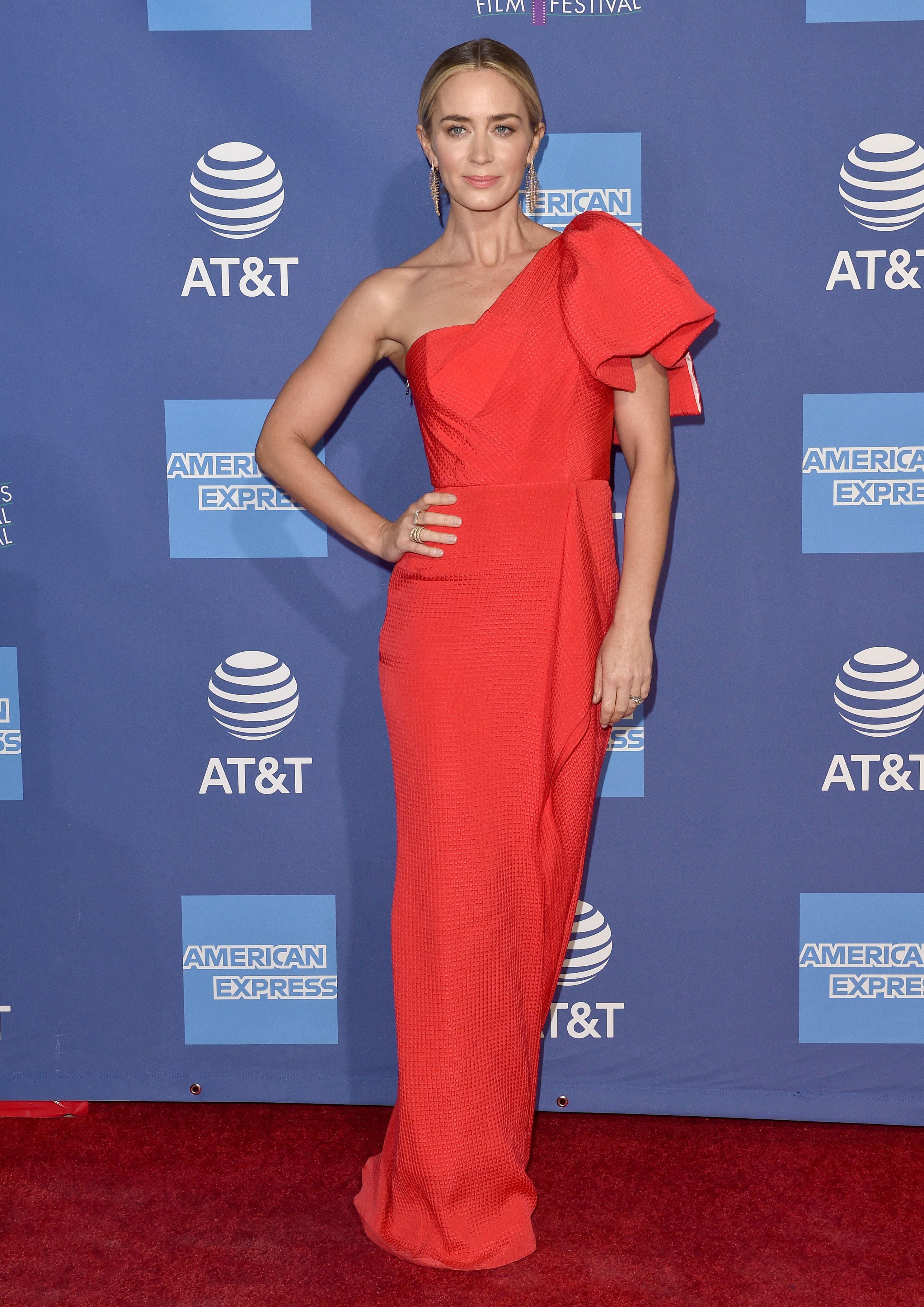 Emily Blunt en el 30 Festival de Cine de Palm Springs