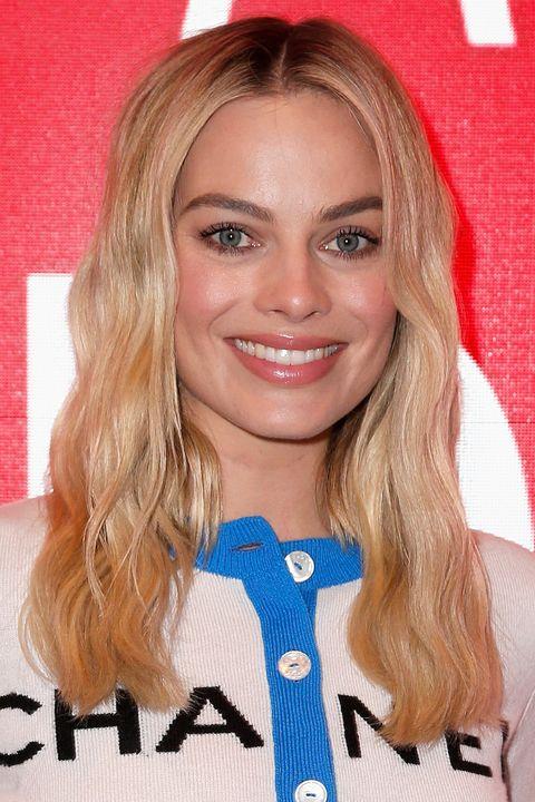 Margot Robbie Hair Make-Up Evolution