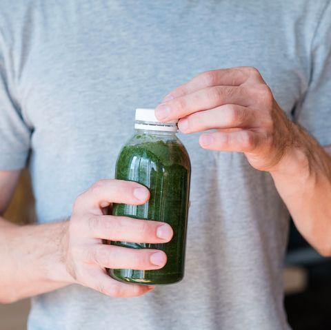Bottle, Hand, Cucumber, Cucumis, Drink, Plant, Vegetable, Finger, Drinkware, Water bottle,