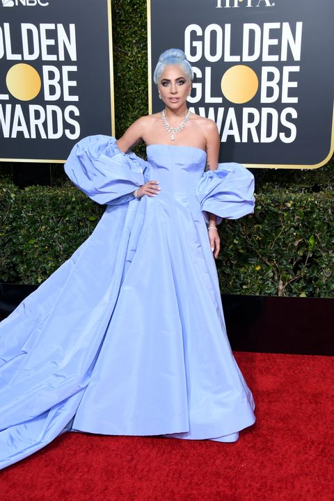 beverly hills, ca   january 06  lady gaga attends the 76th annual golden globe awards at the beverly hilton hotel on january 6, 2019 in beverly hills, california  photo by jon kopaloffgetty images