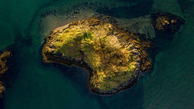 la isla privada escocesa que cuesta lo mismo que un garaje