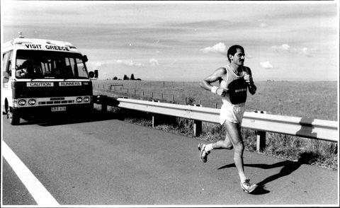 Yiannis, kouros, corredor, ultramaratones