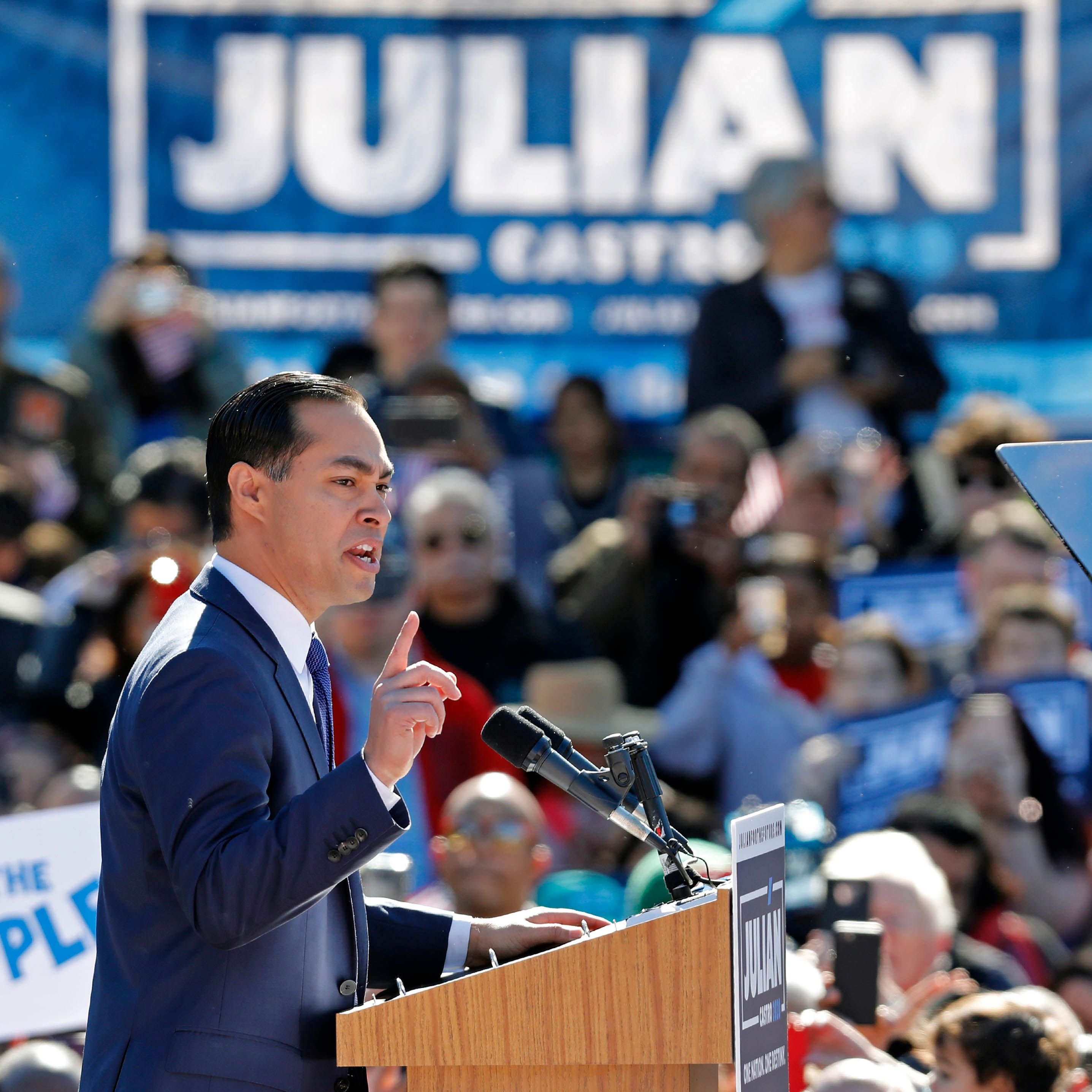 Julian Castro is the only major Democratic candidate who has endorsed reparations with an actual race-specific proposal.