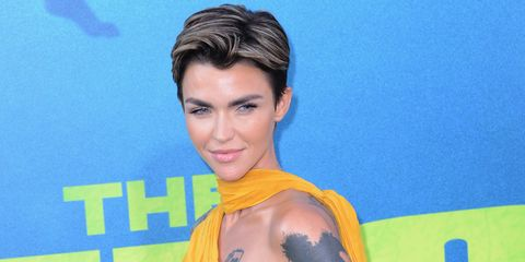 b4cbf3f00 Ruby Rose has blue hair now and it's everything
