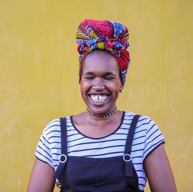 Turban, Headgear, Fun, Smile, Fashion accessory, Happy, Child,