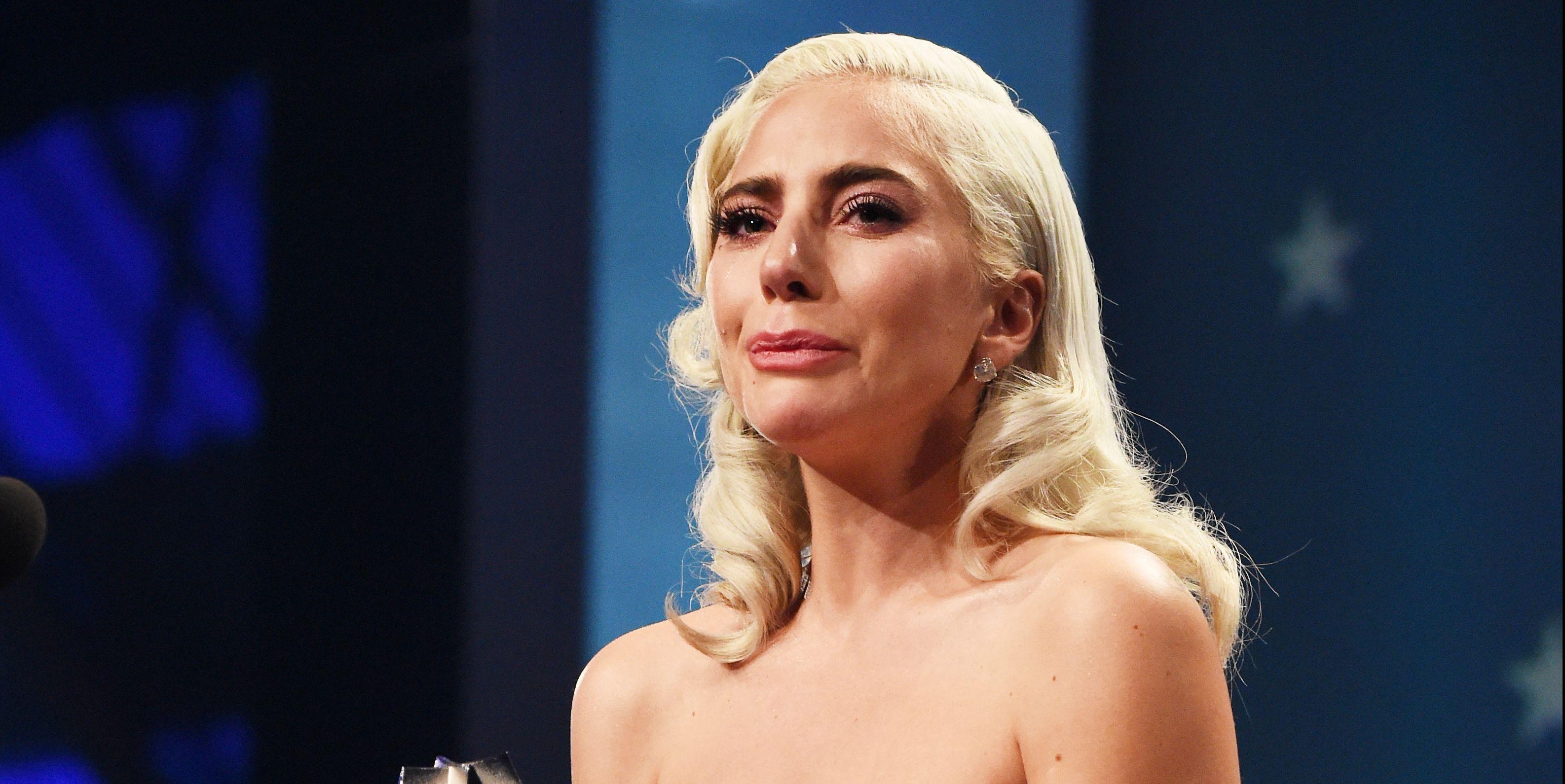 Lady Gaga Critic's CHoice Awards 2019