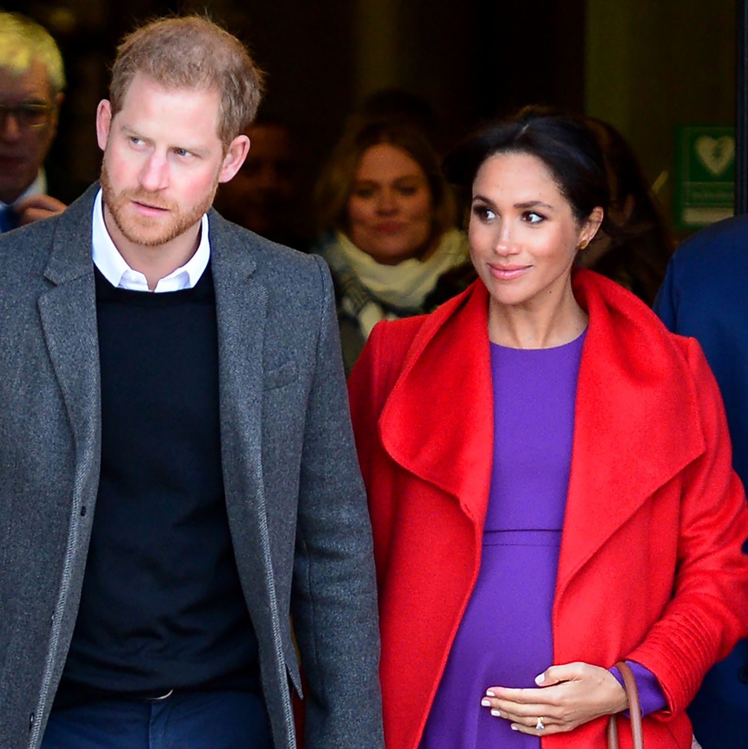 "Meghan Markle's Recent Body Language Gives Major Insight into Those ""Feud"" Rumors"