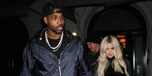 Tristan Thompson was spotted partying 'into the early hours' without Khloe Kardashian