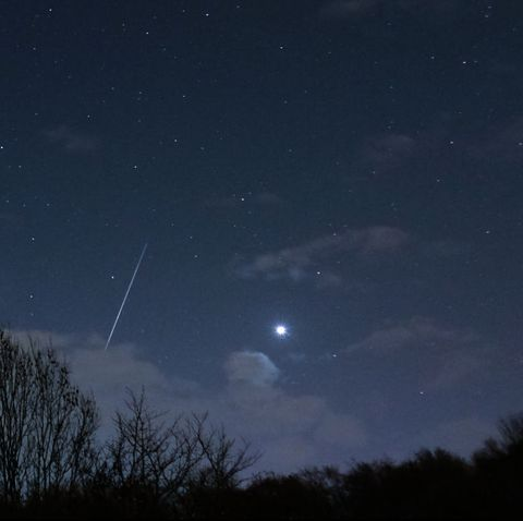 Sky, Night, Atmospheric phenomenon, Atmosphere, Astronomical object, Astronomy, Cloud, Celestial event, Star, Darkness,