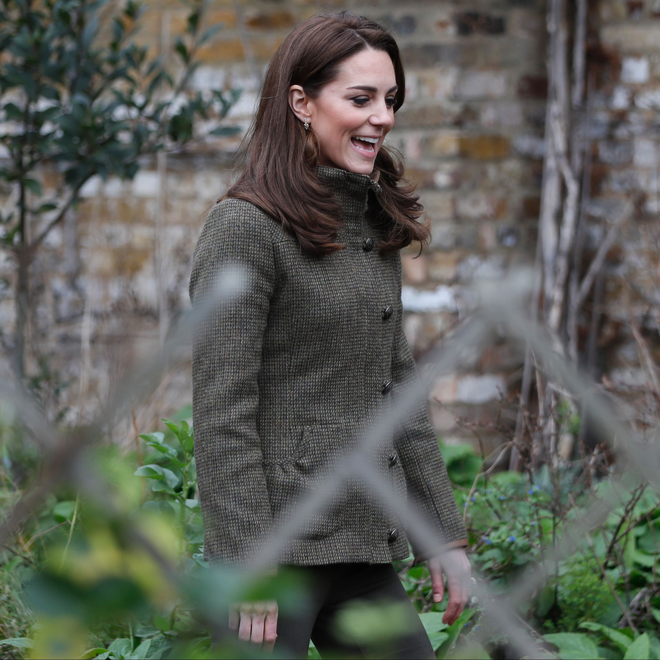 Cool Mom Kate Middleton Reportedly Walks Casually with Prince Louis in Public