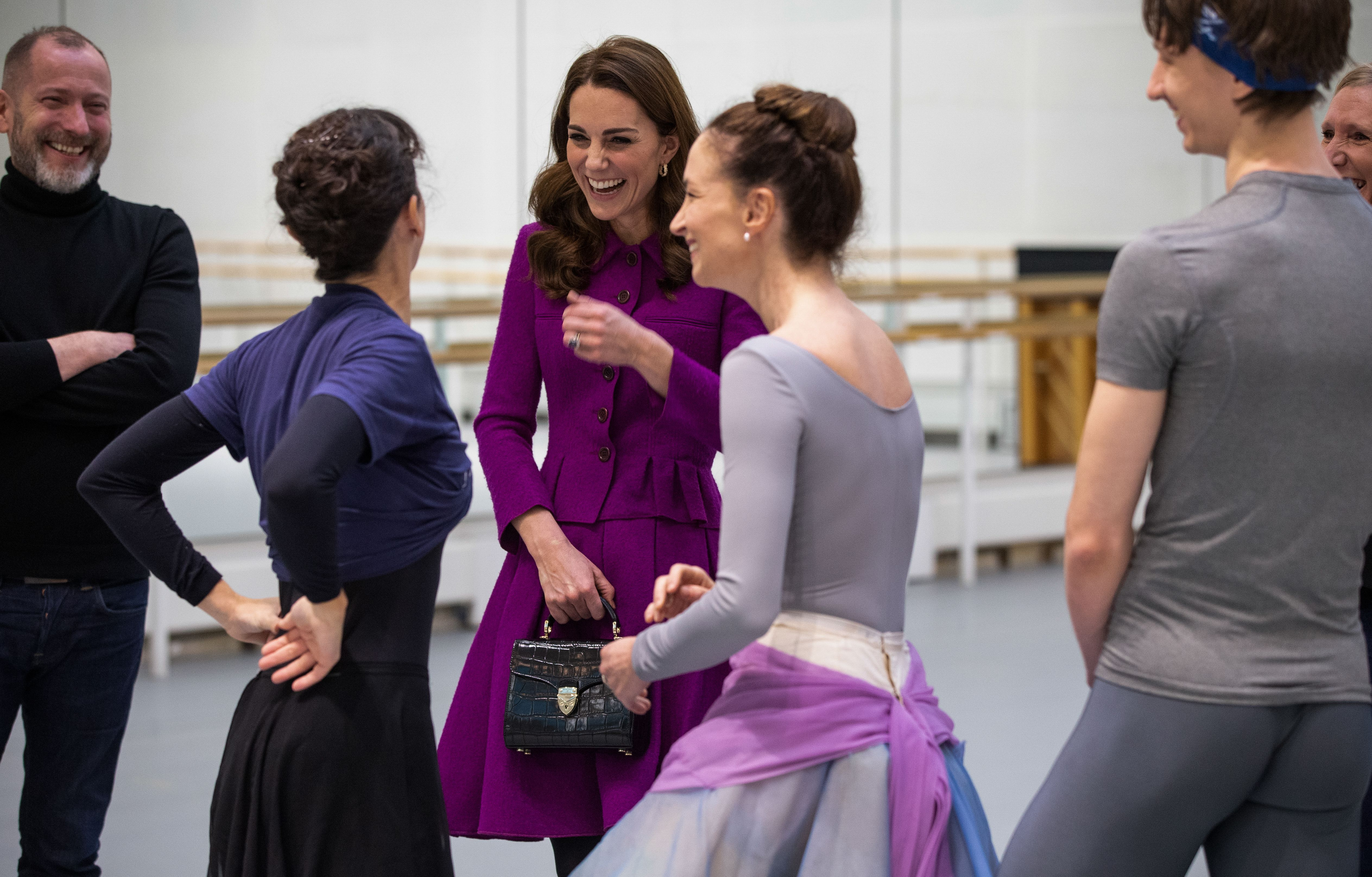 royals at the ballet