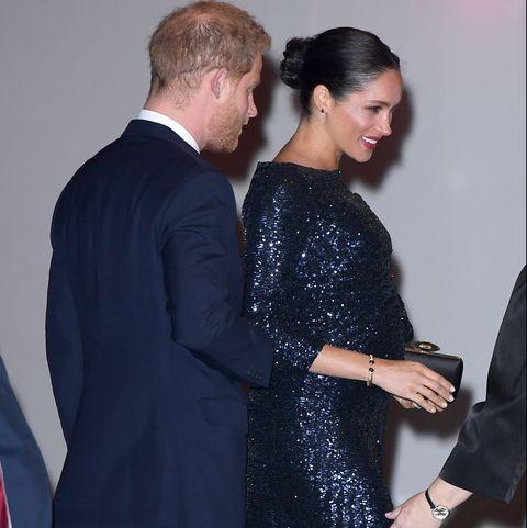Meghan Markle's princess diana bracelet