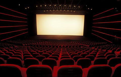 Auditorium, Projection screen, Theatre, Movie theater, Performing arts center, Stage is empty, Stage, Technology, Concert hall, heater,