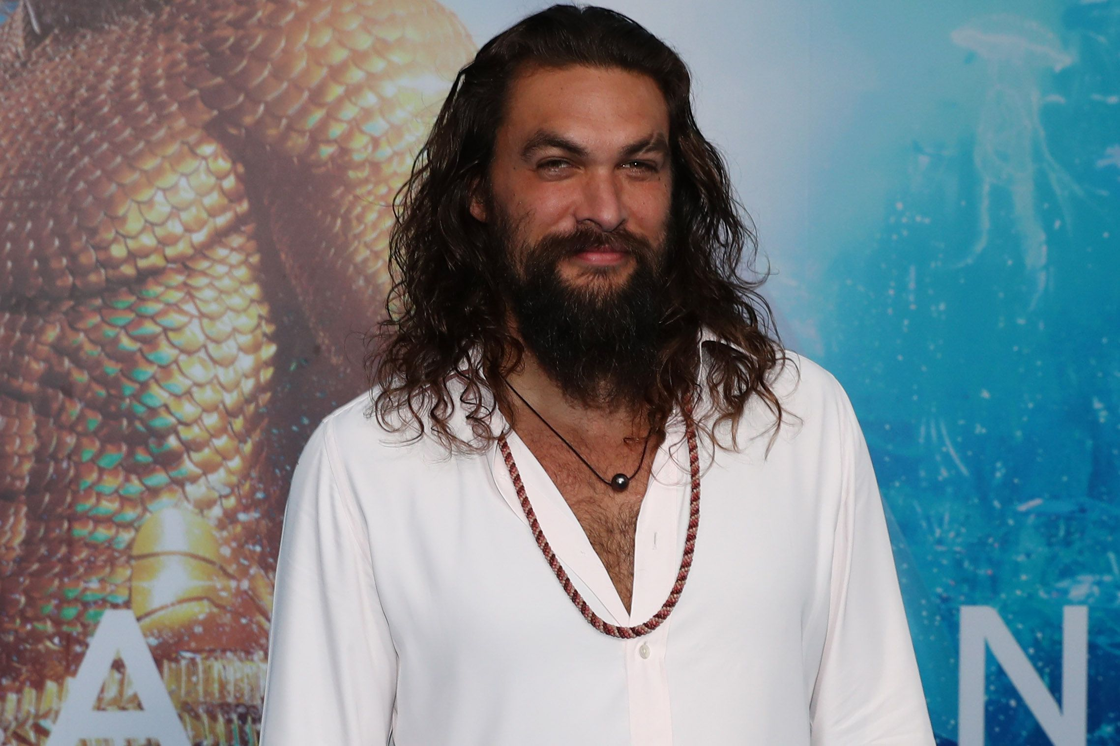 Here's How Jason Momoa Got the Epic Scar on His Face