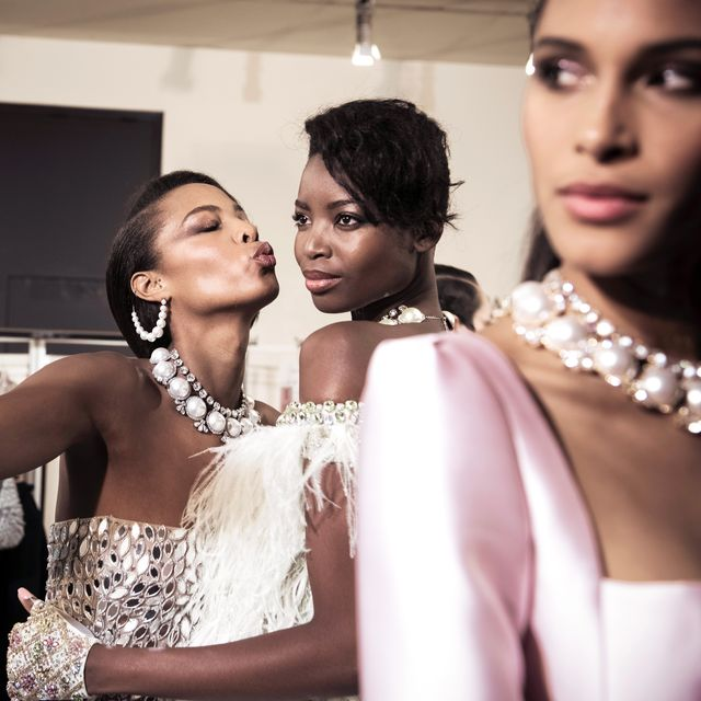 Skin, Beauty, Fashion, Fashion design, Jewellery, Shoulder, Dress, Formal wear, Fashion accessory, Event,