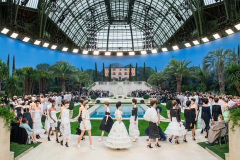 Chanel : Runway - Paris Fashion Week - Haute Couture Spring Summer 2019
