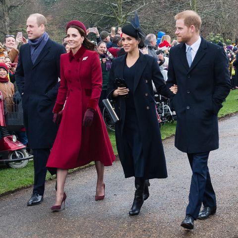royal family at christmas
