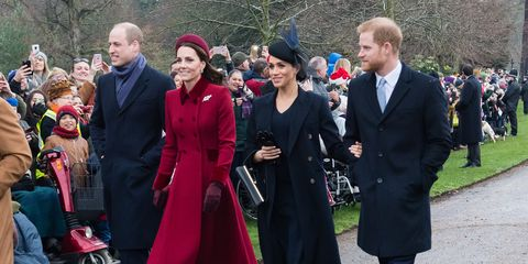 Royal family at Sandringham