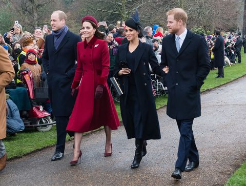 Royal family at Sandringham