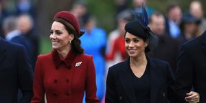 Meghan Markle and Kate Middleton On Christmas Day
