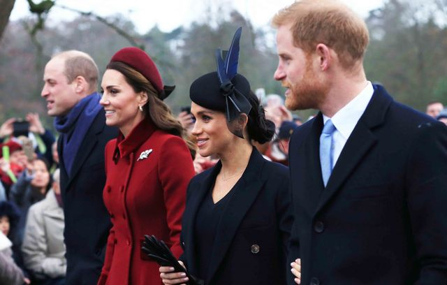 ウィリアム王子、キャサリン妃、ハリー王子、メーガン妃