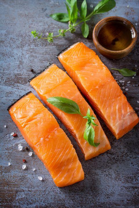 Smoked salmon, Fish slice, Food, Salmon, Cuisine, Dish, Fish, Salmon, Ingredient, Kasuzuke,