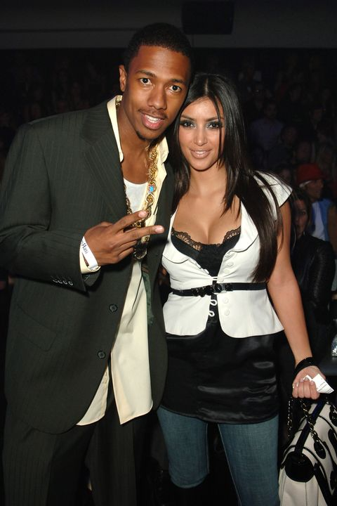 kim kardashian and nick canon