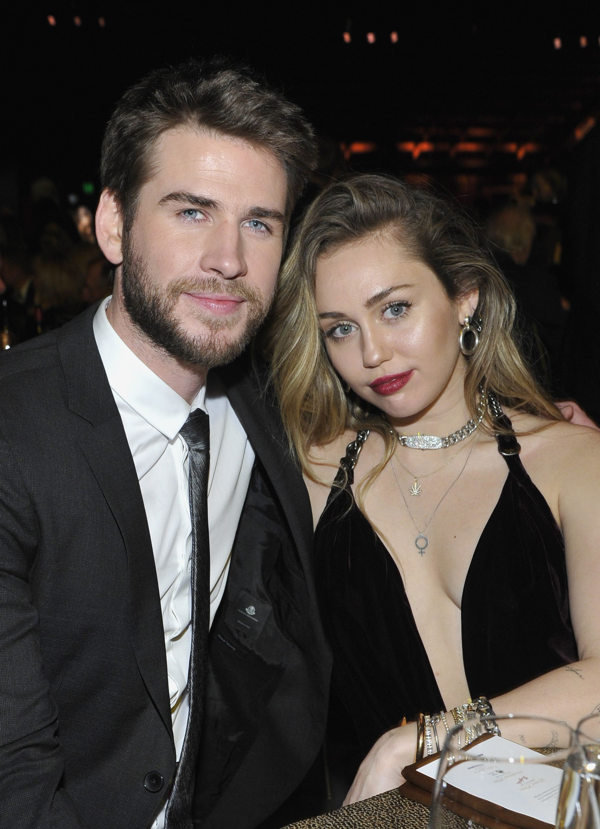 Who is miley cyrus dating with depression