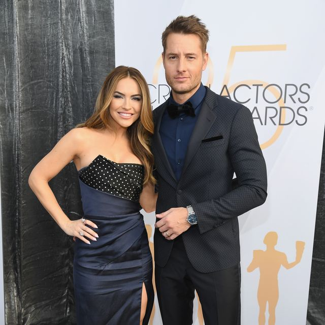 los angeles, ca   january 27  chrishell hartley and justin hartley attend the 25th annual screen actorsguild awards at the shrine auditorium on january 27, 2019 in los angeles, california 480568  photo by kevin mazurgetty images for turner
