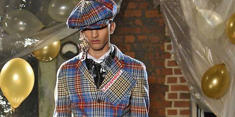 Tartan, Plaid, Clothing, Fashion, Pattern, Street fashion, Design, Textile, Fashion design, Fashion show,