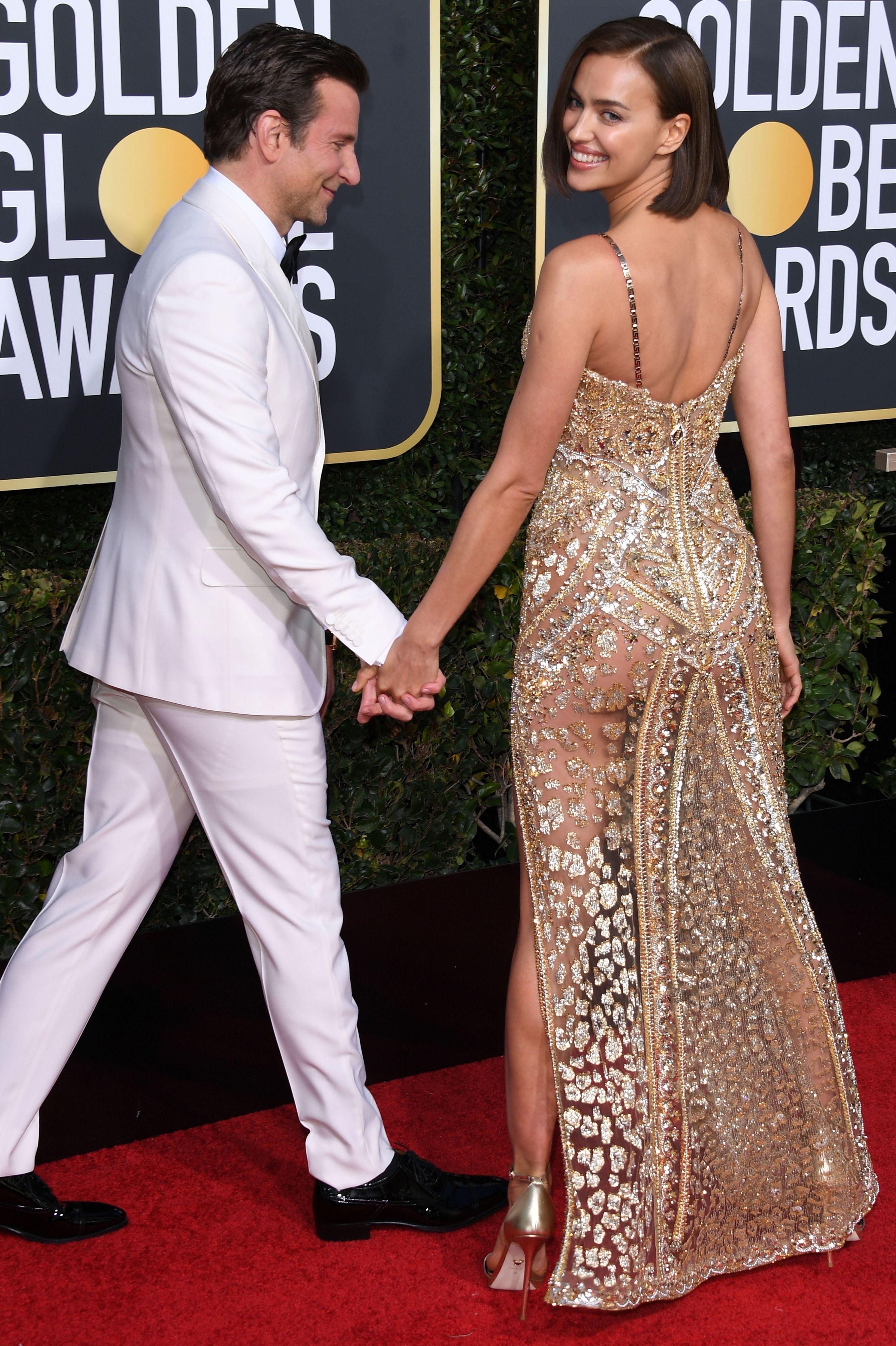 Golden Globes daring naked dresses