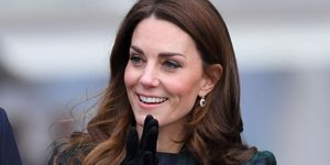 Catherine, Duchess Of Cambridge officially opens V&A Dundee and greet members of the public on the waterfront on January 29, 2019 in Dundee, Scotland.