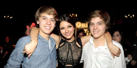 Cole Sprouse Victoria Justice Dylan Sprouse