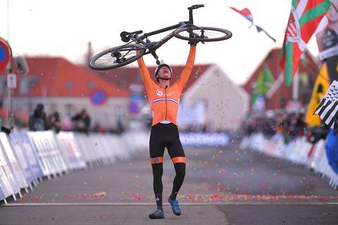 Mathieu van der Poel Wereldkampioen Veldrijden