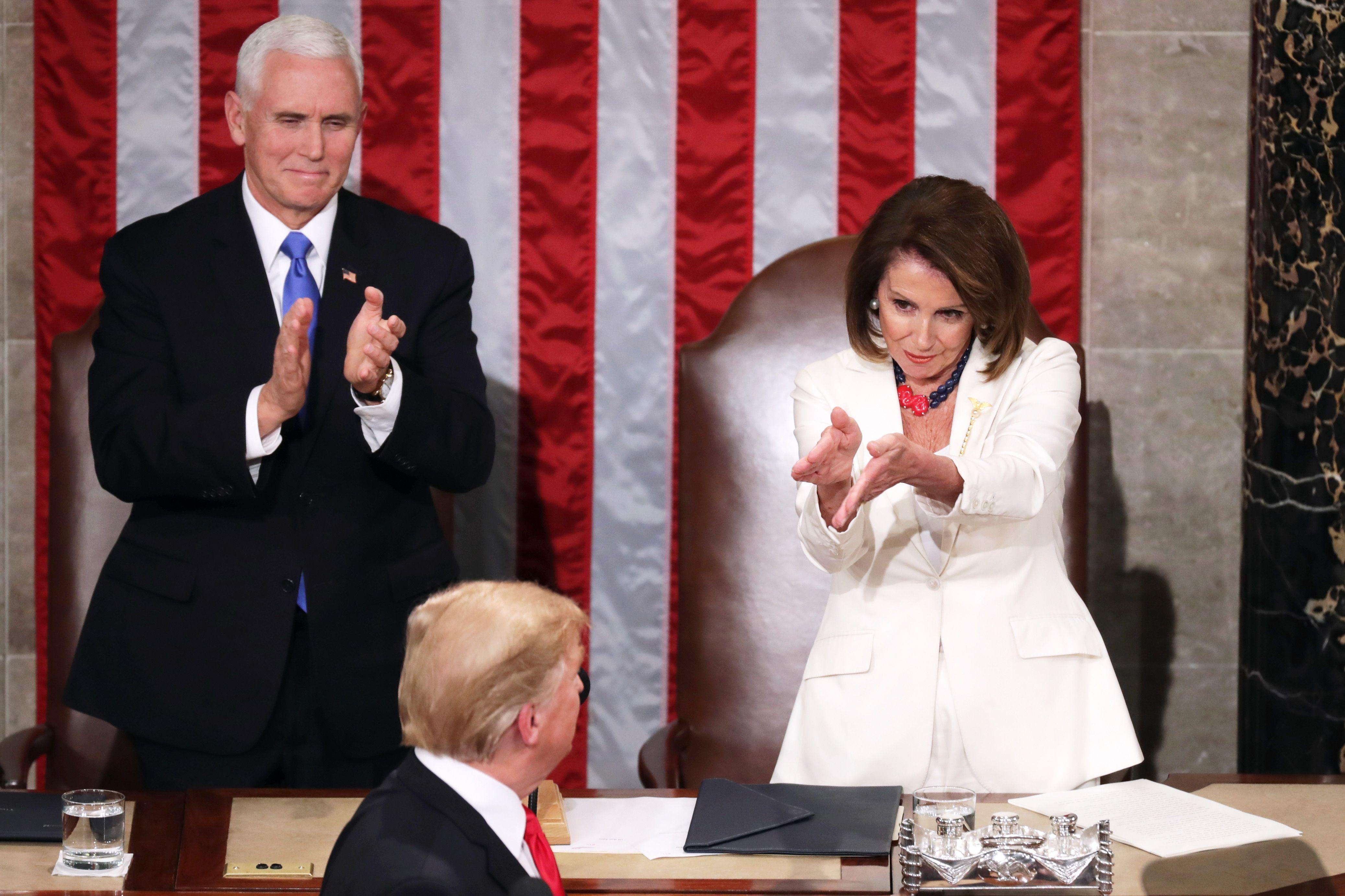 How to Dress Like Nancy Pelosi and Donald Trump for Halloween