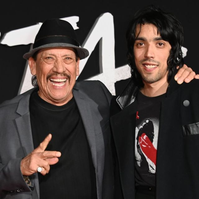 actor danny trejo l and his son gilbert trejo attend the premiere of alita battle angel on february 5, 2019 at the westwood village regency theatre in westwood, california photo by robyn beck  afp        photo credit should read robyn beckafp via getty images