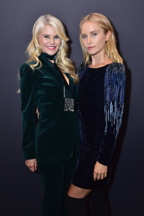 6145f6f9460 Christie Brinkley and Daughter Sailor Walk the Runway Together at ...