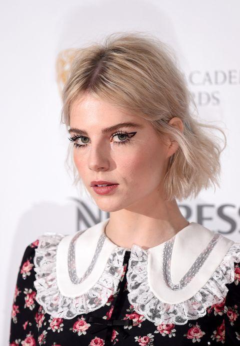 Lucy Boynton Makeup