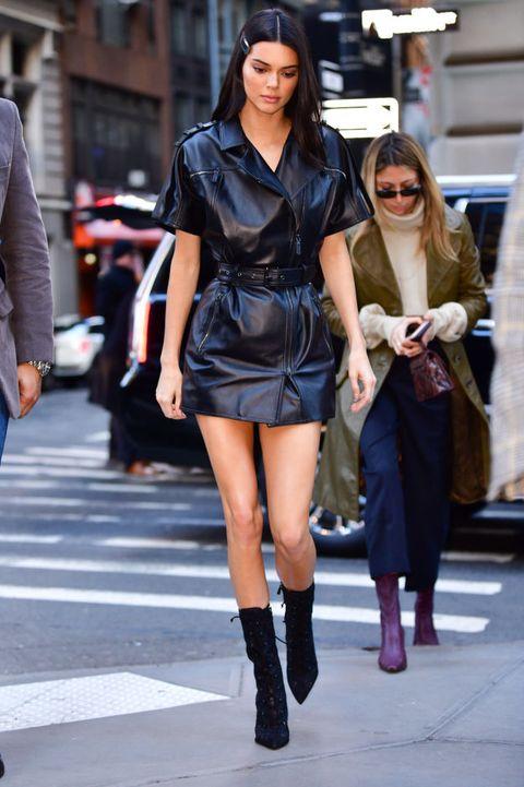 Street fashion, Clothing, Fashion, Fashion model, Snapshot, Footwear, Leg, Knee, Boot, Thigh,