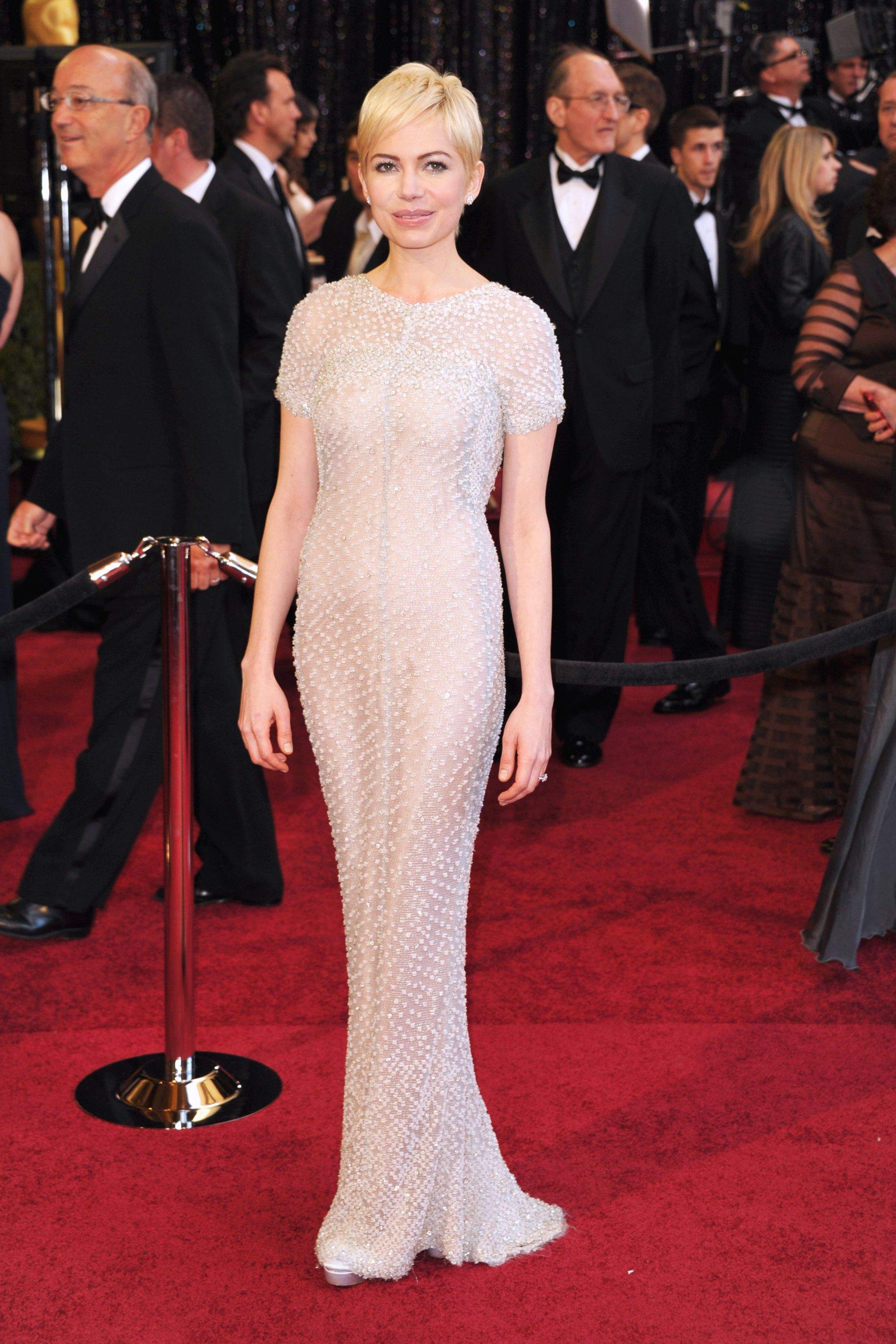 Michelle Williams, 2011 Talk about sheer (!).
