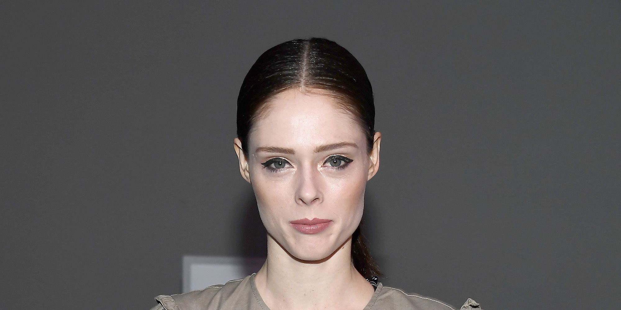Coco Rocha brought her daughter Ioni to New York fashion week