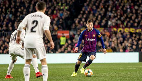 Copa del Rey:Real Madrid-FC Barcelona. Messi