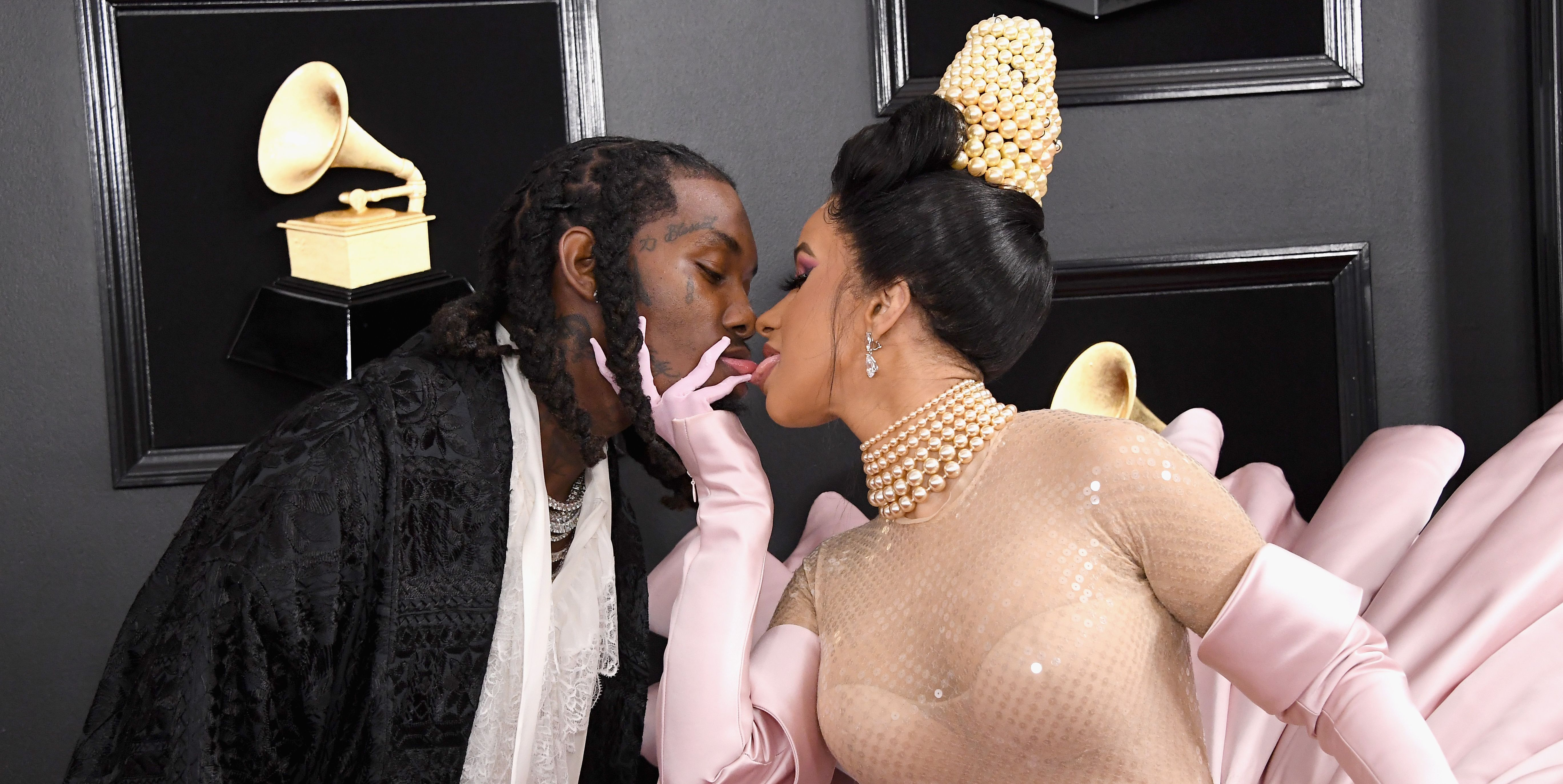 Important: Cardi B Just Walked the Red Carpet with Offset