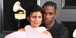 61st Annual GRAMMY Awards - Travis Scott and Kylie Jenner