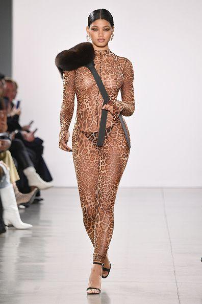 Nude runway show