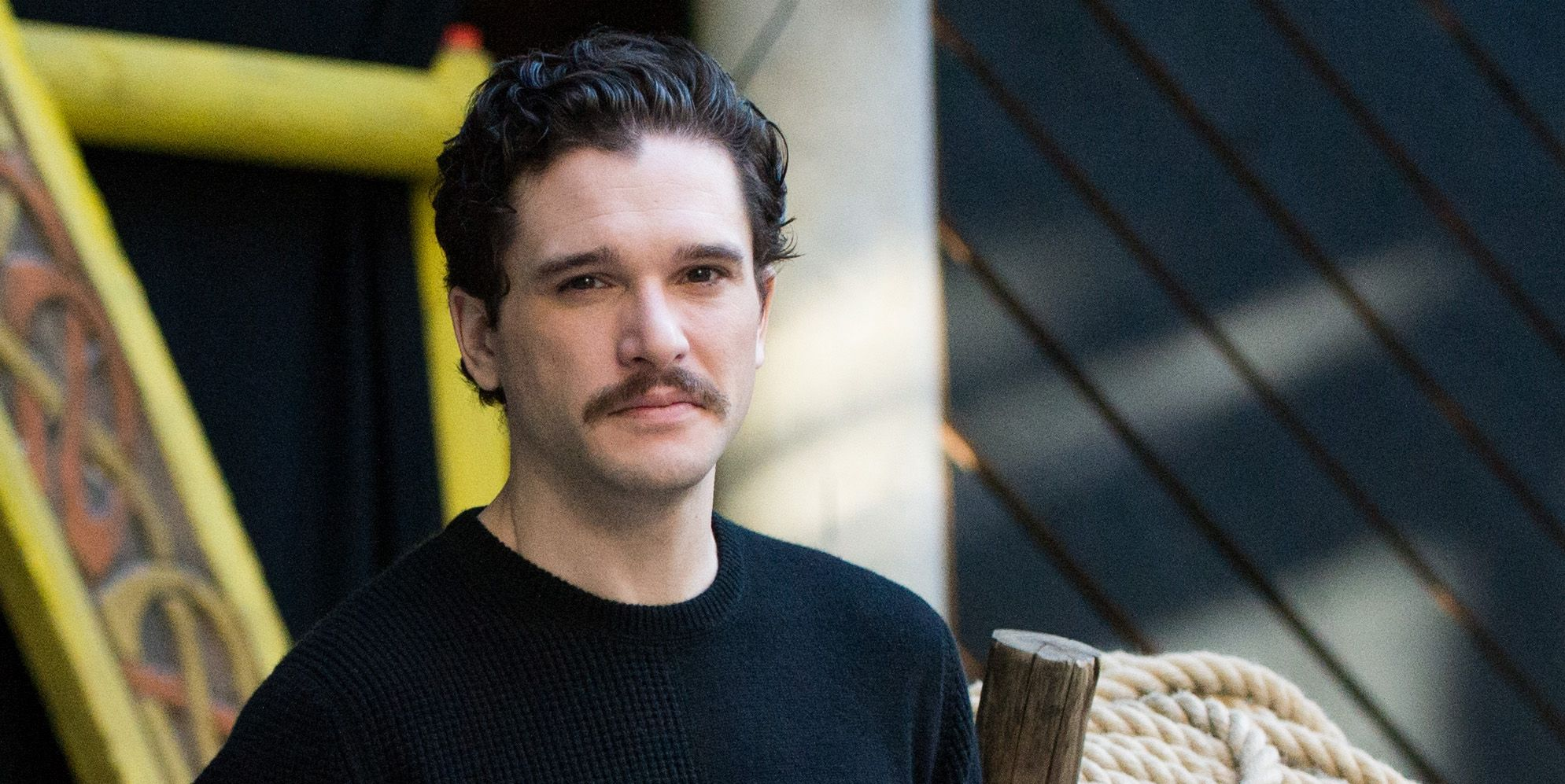 In Full Support Of Kit Harington's New Porno 'Tache